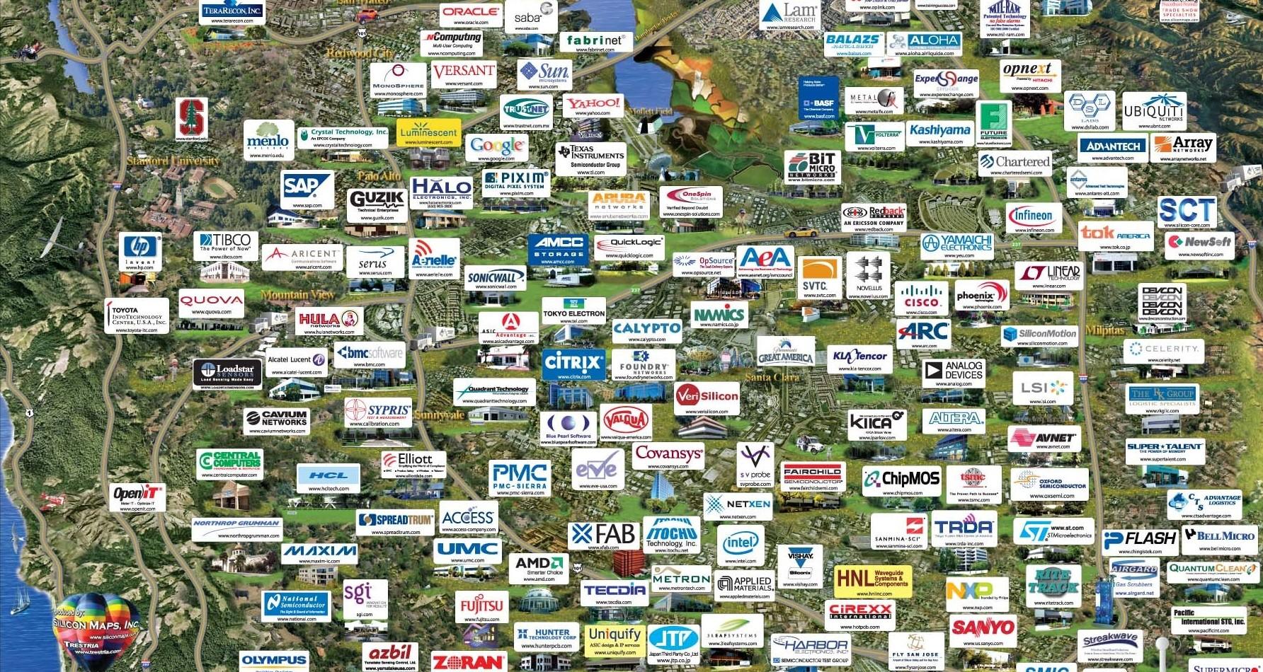 Firmen Silicon Valley